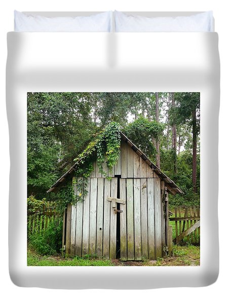 Old Shed Duvet Cover