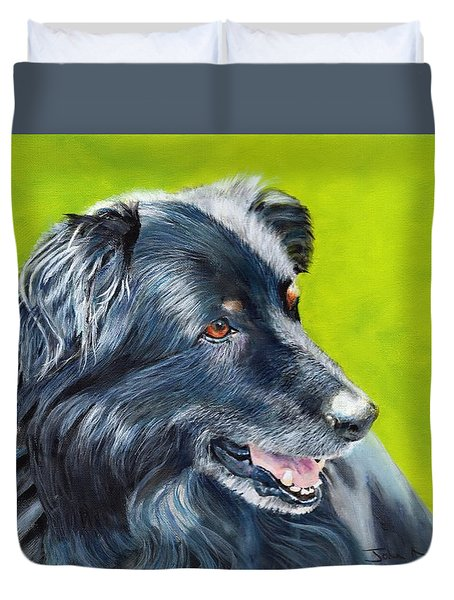 Old Shep Duvet Cover
