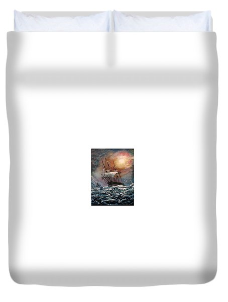 old Ship of Zion Duvet Cover