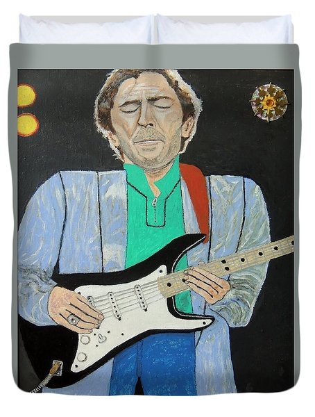 Old Slowhand. Duvet Cover
