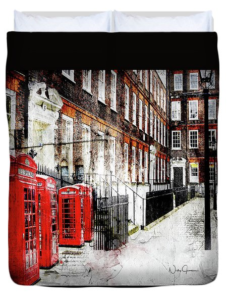 Old Square Duvet Cover