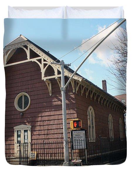 Old St. James Church  Duvet Cover