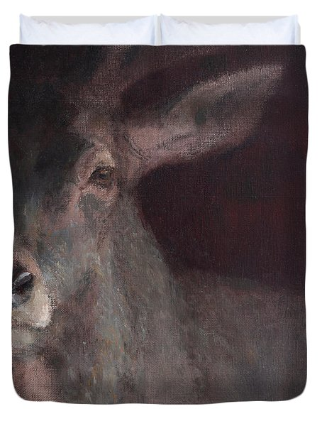 Old Stag Duvet Cover