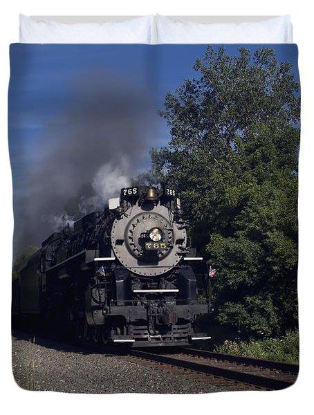 Old Steamer 765 Duvet Cover