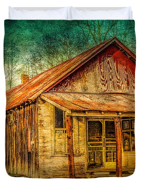 Old Store Duvet Cover by Phillip Burrow