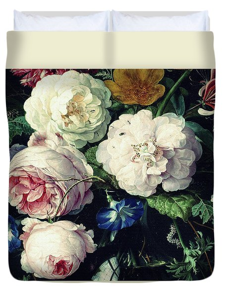 Old Time Botanical Duvet Cover