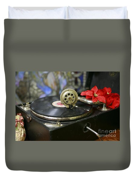 Old Time Photo Duvet Cover