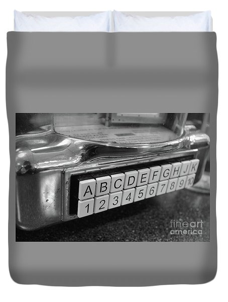 Old Time Rock And Roll Duvet Cover by John S