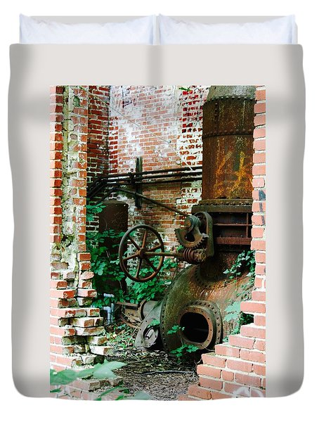 Old Time Views Duvet Cover
