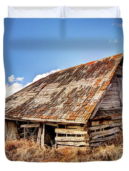 Old Times Duvet Cover