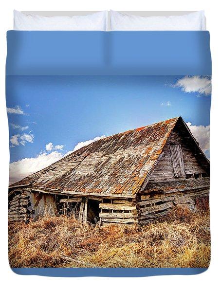 Old Times Duvet Cover