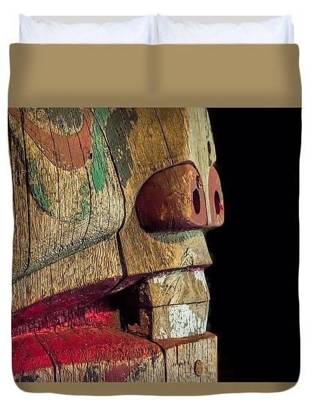 Duvet Cover featuring the photograph Old Totum by Lewis Mann