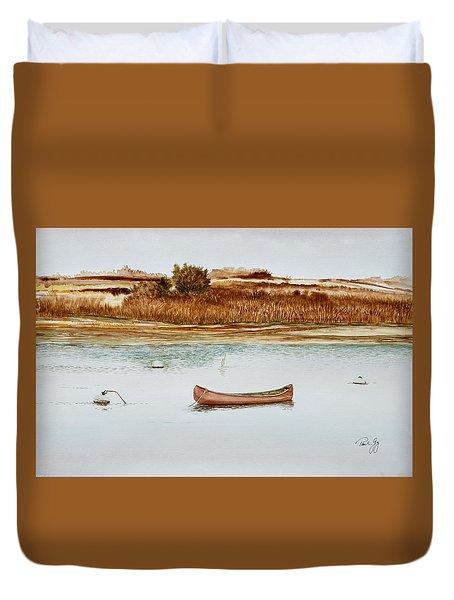 Old Town Canoe Menemsha Mv Duvet Cover