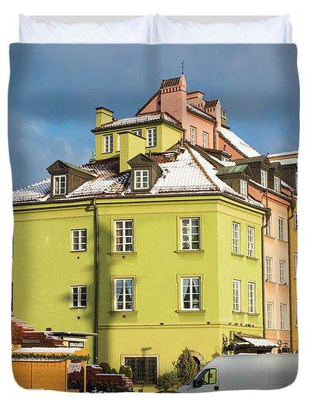 Old Town Duvet Cover