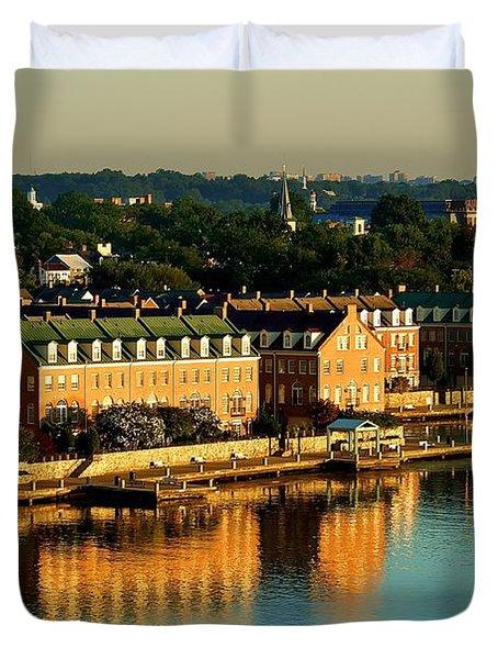 Old Town Va Duvet Cover