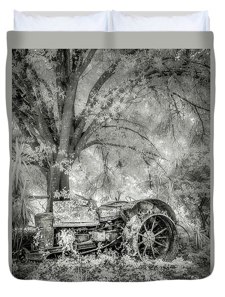 Old Tractor Duvet Cover