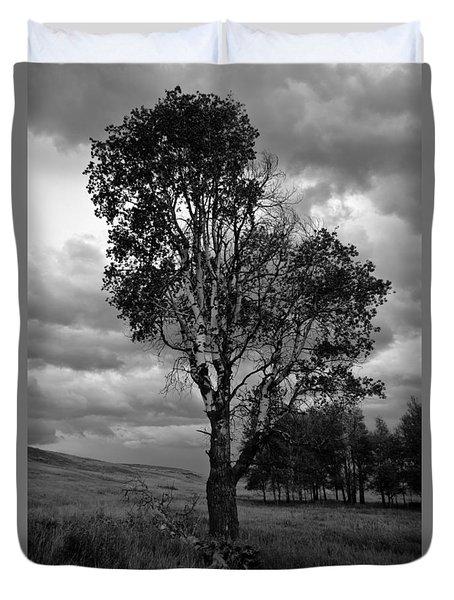 Old Tree, Lost Trail Wildlife Refuge Duvet Cover