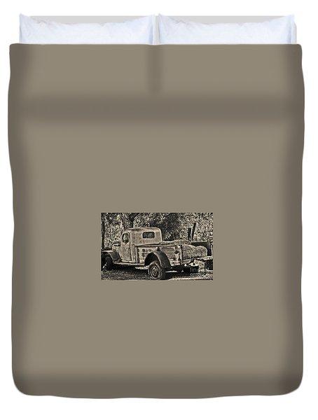 Old Truck Duvet Cover