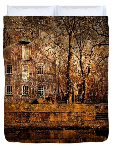 Old Village - Allaire State Park Duvet Cover