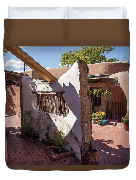 Old Wall Duvet Cover