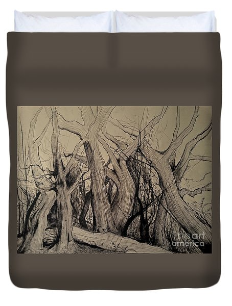 Old Woods Duvet Cover