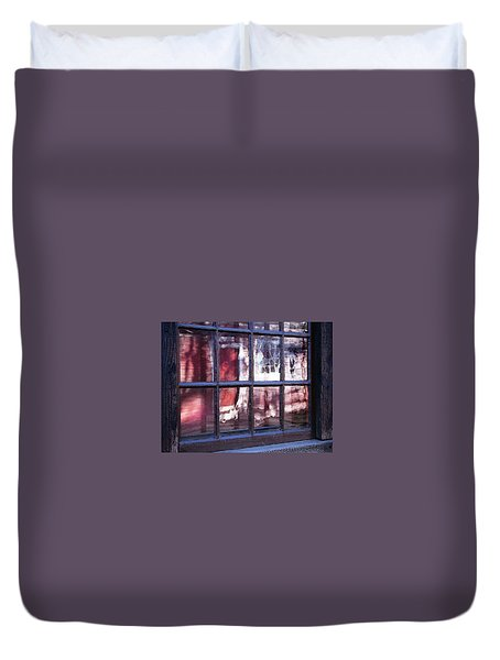 Olde Glass Duvet Cover