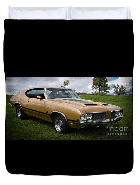 Oldsmobile 442 Duvet Cover