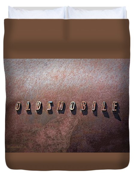 Oldsmobile Duvet Cover