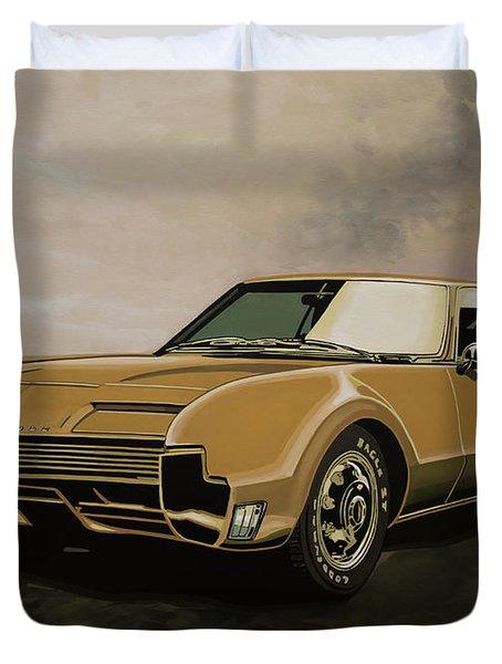 Oldsmobile Toronado 1965 Painting Duvet Cover