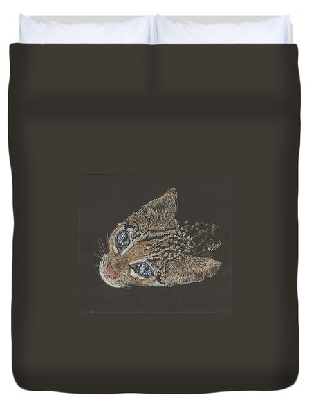 Ole Blue Eyes Duvet Cover