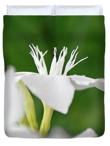 Oleander Ed Barr 1 Duvet Cover