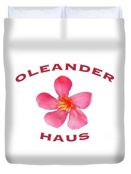 Oleander Haus Duvet Cover