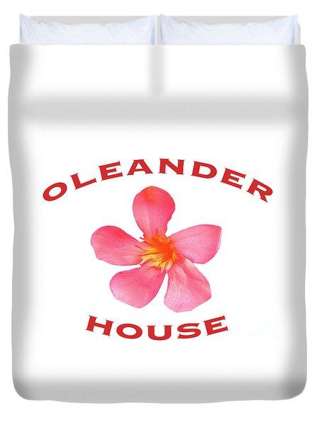Oleander House Duvet Cover