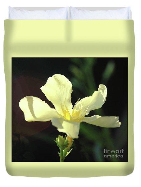 Oleander Marie Gambetta 1 Duvet Cover