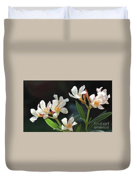 Oleander Petite Salmon 2 Duvet Cover