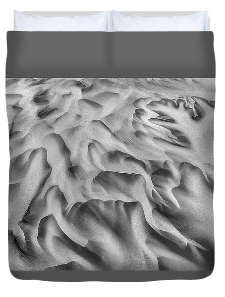 Olfusa River Delta_2 Duvet Cover
