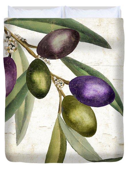 Olive Branch IIi Duvet Cover