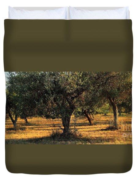Olive Grove 3 Duvet Cover