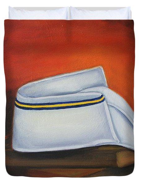 Olivet Nazerene University  Duvet Cover by Marlyn Boyd