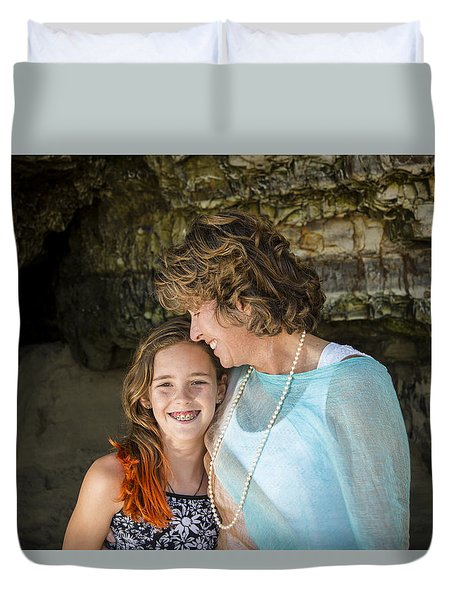 Olivia And Toni Duvet Cover