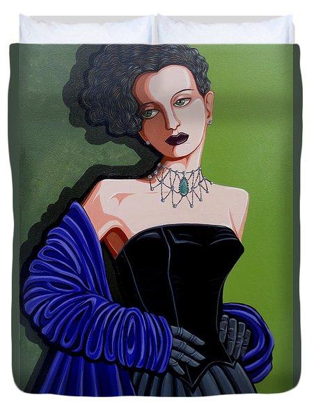 Olivia Duvet Cover by Tara Hutton