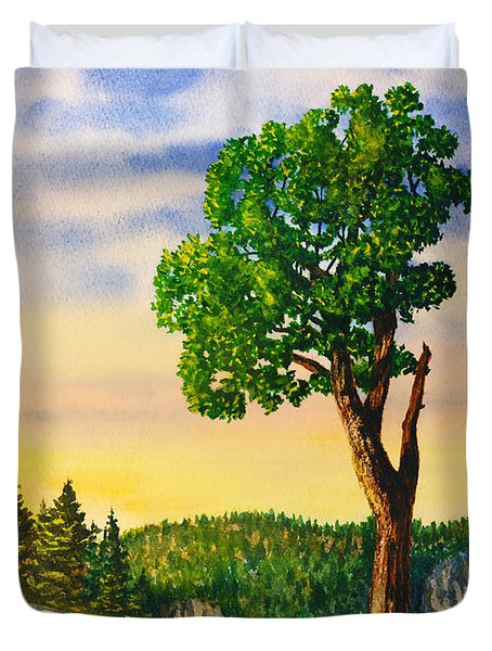 Olmsted Point Tree Duvet Cover
