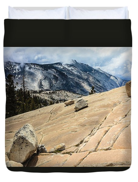 Olmsted Point Yosemite Duvet Cover