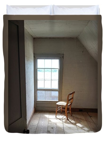 Olson House Chair And Window Duvet Cover