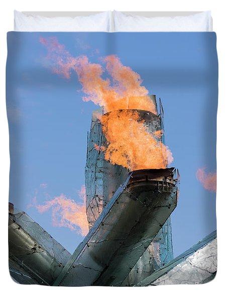 Olympic Cauldron Duvet Cover