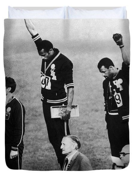 Olympic Games, 1968 Duvet Cover