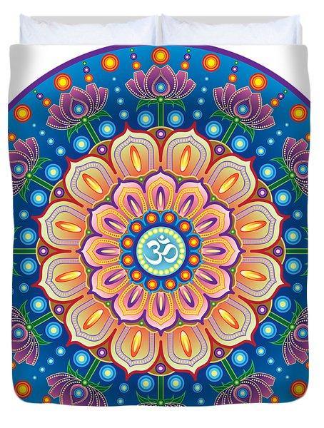 Om Mandala Duvet Cover