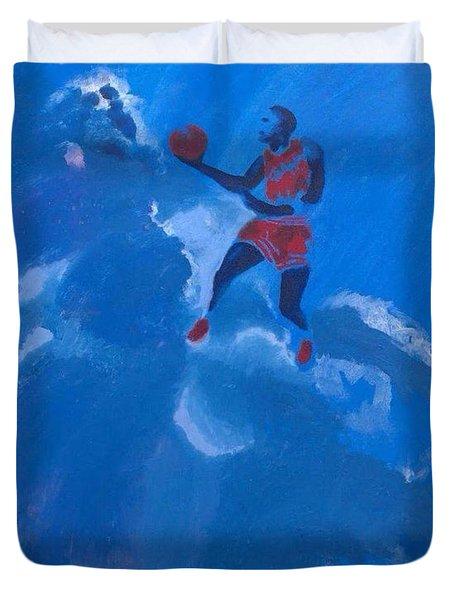 Omaggio A Michael Jordan Duvet Cover