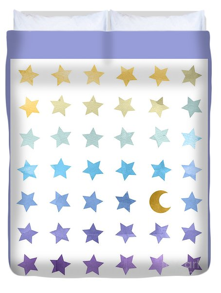 Ombre Cosmos Duvet Cover
