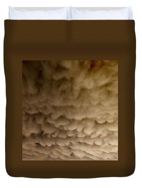 Ominous Mammatus Duvet Cover